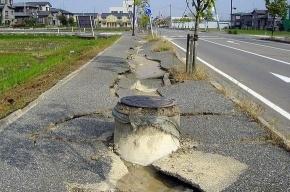 Японию снова трясет
