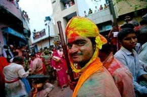 Индийский фестиваль красок