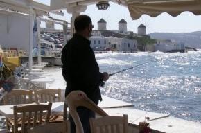 Мое лучшее фото из Греции: остров пеликанов