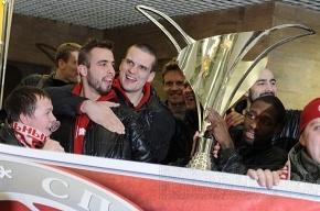«Спартак» поздравят после матча с турками