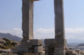 Мое лучшее фото из Греции: дверь храма Аполлона