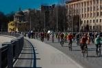 Велосипедисты открыли сезон: Фоторепортаж