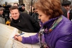Фоторепортаж: «Матвиенко: петербуржцы должны помыть окна»