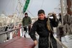 Фоторепортаж: «Венесуэльский парусник «Симон Боливар» прибыл в Петербург»