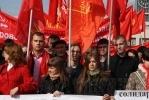 В Петербурге праздновали день рождения Ленина: Фоторепортаж
