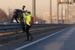 Фоторепортаж: ««Хрустики» на КАД - угроза водителям»