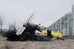 Фоторепортаж: «Аллею Чернобыльцев очистили от мусора»