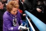 Матвиенко: петербуржцы должны помыть окна: Фоторепортаж