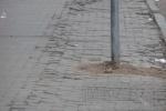 Прохожие на улице Рубинштейна спотыкаются о последствия зимней «показухи»: Фоторепортаж