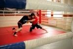Бойцы провели открытую тренировку: Фоторепортаж