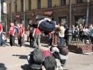 Допрыгались: акция трейсеров отрезвила чиновников Петербурга: Фоторепортаж
