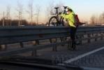 «Хрустики» на КАД - угроза водителям: Фоторепортаж