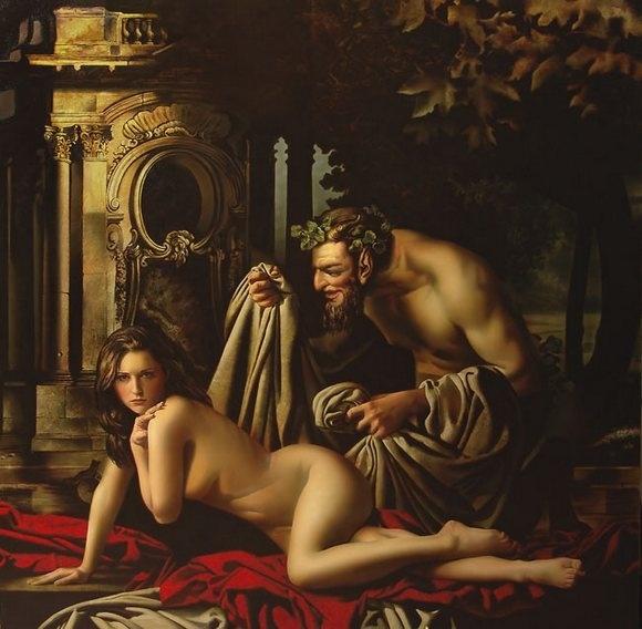 Алексей Головин рисует сюжеты из греческой мифологии: Фото