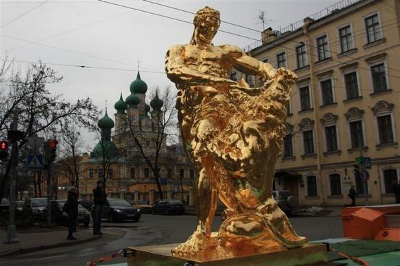 По Петербургу проехал «Самсон»: Фото