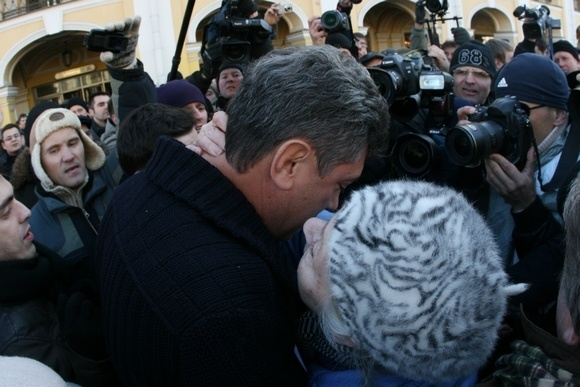 Около 40 задержанных вчера на Марше несогласных остаются в судах: Фото
