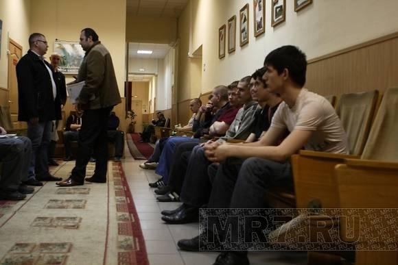 Первые призывники из Петербурга отправились служить: Фото