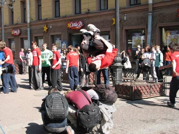Допрыгались: акция трейсеров отрезвила чиновников Петербурга: Фото