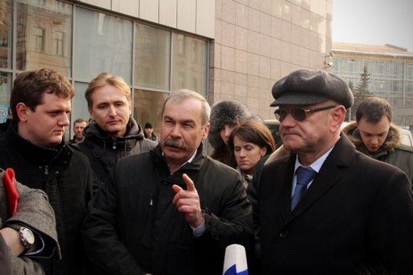 Осеевский все-таки приехал на Добролюбова (фото): Фото