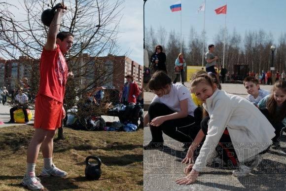 В Приморском районе прошли соревнования «Чернобыльская миля»: Фото