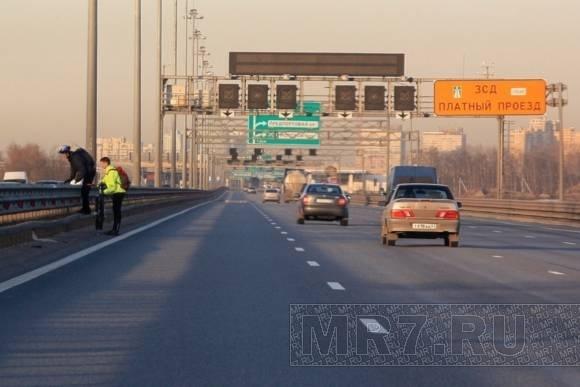 «Хрустики» на КАД - угроза водителям: Фото
