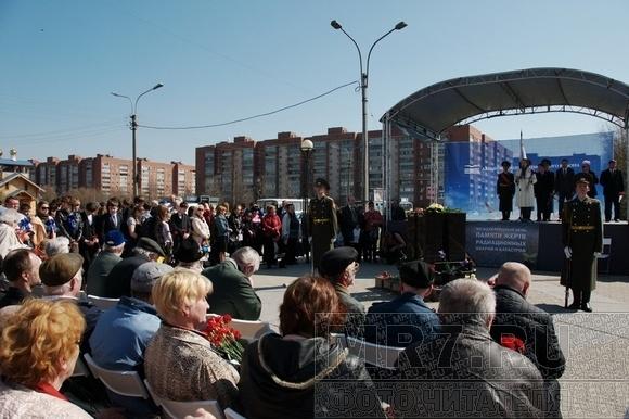 На аллее Чернобыльцев почтили память жертв атомной катастрофы: Фото