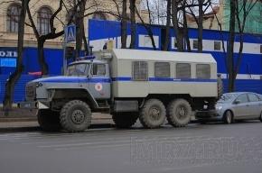 В Петербург едет колонна автомобилей тверского ОМОНа