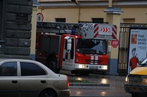 Пожар на Обводном локализован