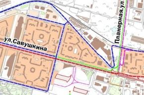 Часть Приморского проспекта закрывается в ночь на 2 мая