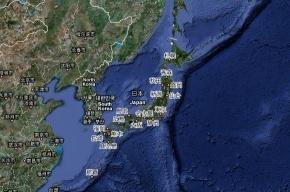 В Японии снова произошло сильное землетрясение