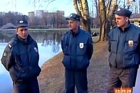 Трое полицейских совершили доброе дело в парке Победы