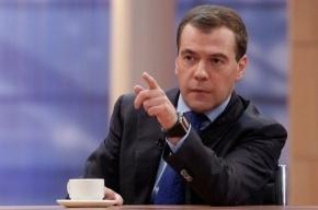 Медведев решил заступиться за малый бизнес