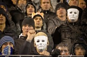 На матче с ЦСКА задержано 13 человек