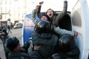 Около 40 задержанных вчера на Марше несогласных остаются в судах