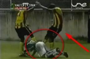 Хулиган Морено ударил соперника ногой