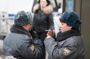 На митинге в защиту Петербурга полиция отдыхала