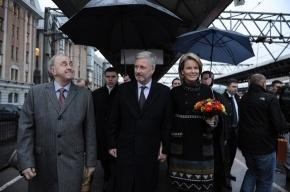 В Петербурге гостят бельгийский принц и принцесса