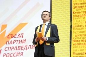 У «Справедливой России» появился новый председатель партии