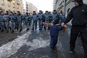 На митинге в Петербурге пострадал полуторагодовалый ребёнок