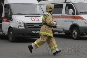 На Варваринской улице тушили два горящих дома
