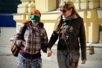 Фоторепортаж: «В Петербурге прошла акция в поддержку слепых»