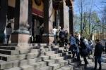 В дацане Петербурга провели церемонию разрушения мандалы: Фоторепортаж