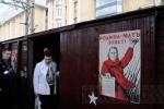 На Московском вокзале встречали Поезд Победы (фото): Фоторепортаж