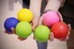 Фоторепортаж: ««Летающие дети» научили петербуржцев жонглировать»