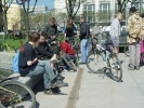 Фоторепортаж: «По Петербургу промчался «Русский велокросс»»