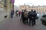 Фоторепортаж: «Акция у белорусского консульства закончилась задержанием оппозиционера-«яблочника»»