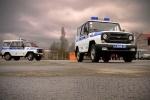 В городе появились первые машины с надписью «полиция»: Фоторепортаж