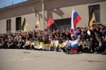 Фоторепортаж: «Трезвые русские пробежали по центру города в честь Победы»