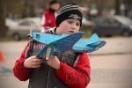 Фоторепортаж: «Над парком Авиаторов летали самолеты»
