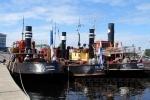 В Петербург приплыли старинные финские пароходы: Фоторепортаж