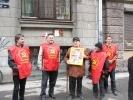 Фоторепортаж: «В Петербурге появился бюст Сталина»